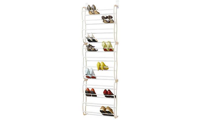 6 מעמד נעליים מודולרי