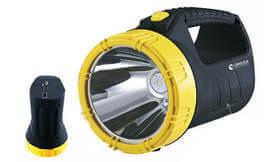 פנס נטען LED כולל סוללת גיבוי