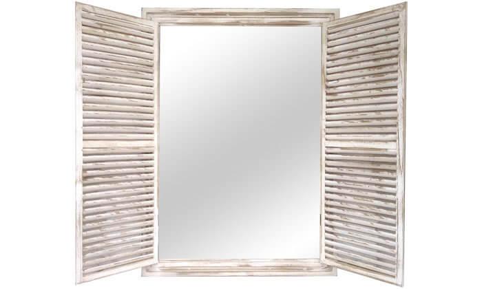2 מראת חלון גדולה בצורת תריס