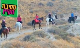 רכיבה על סוסים-חוות מדבר יהודה