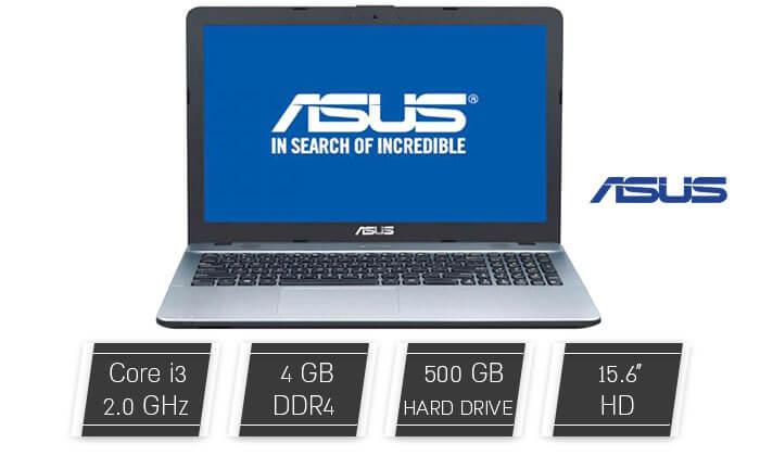 3 מחשב נייד ASUS עם מסך 15.6 אינץ' - משלוח חינם!