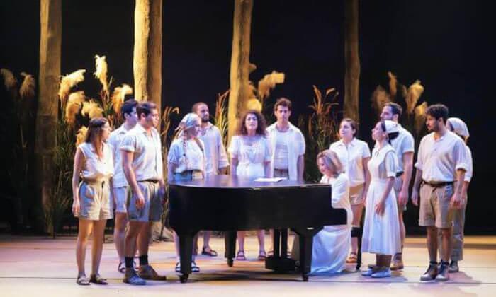9 כרטיס למחזה המוסיקלי סימני דרך בתיאטרון הבימה