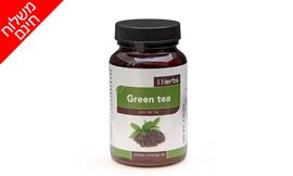 90 כמוסות עלי תה ירוק iherbs