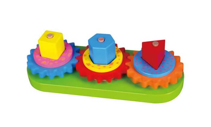 2 משחק גלגלי שיניים