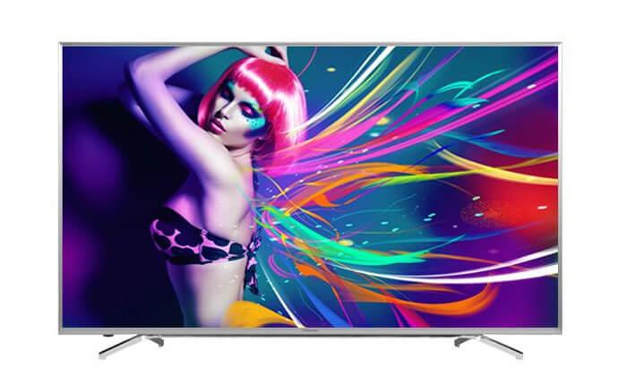 2 טלוויזיה חכמה ''65 HISENSE 4K - משלוח חינם!