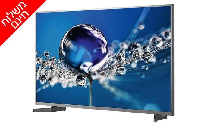 """2 טלוויזיה חכמה """"50 Hisense 4K - משלוח חינם"""