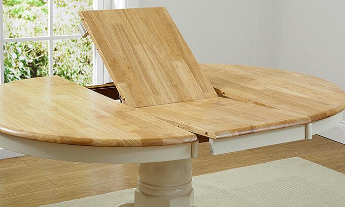 מדהים שמרת הזורע: פינת אוכל עגולה עם 4 כסאות | גרו (גרופון) YH-37