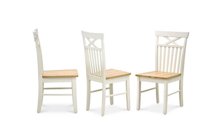 4 שמרת הזורע: פינת אוכל עגולה עם 4 כיסאות