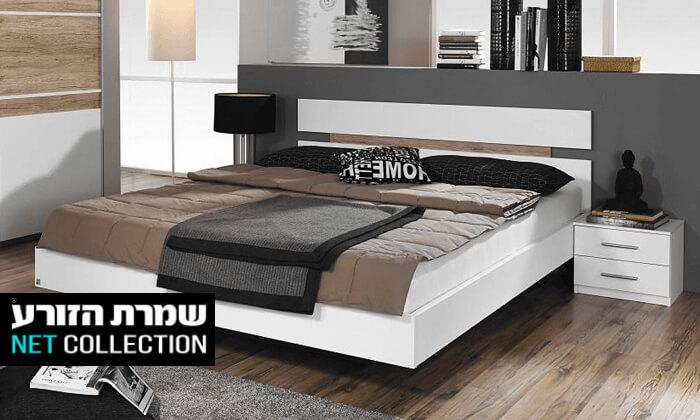 2 שמרת הזורע: מיטה מרחפת וזוג שידות