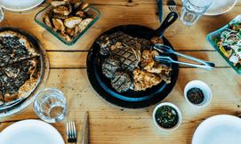 ארוחת בשרים זוגית באיסקנדר