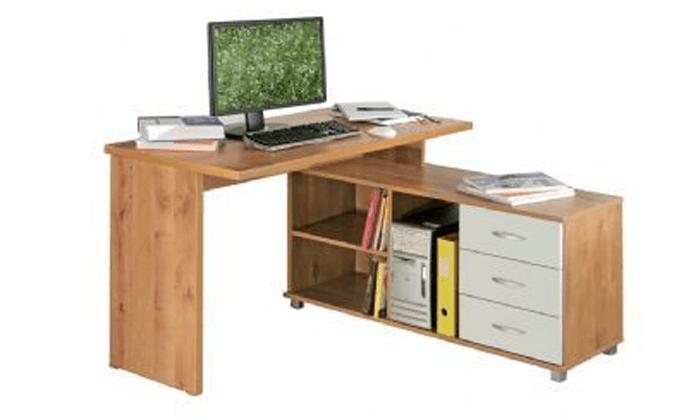 2 רהיטי יראון - שולחן עבודה פינתי