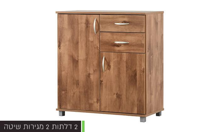 3 רהיטי יראון - שידה 2 דלתות