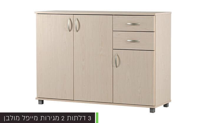 5 רהיטי יראון - שידה 2 דלתות