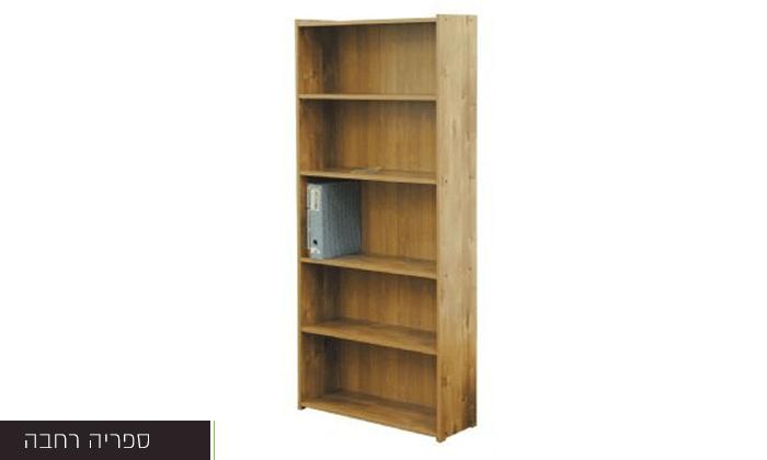4 רהיטי יראון - ספריית מדפים, רהיטי יראון