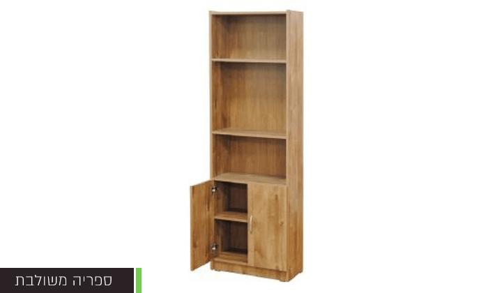 5 רהיטי יראון - ספריית מדפים, רהיטי יראון