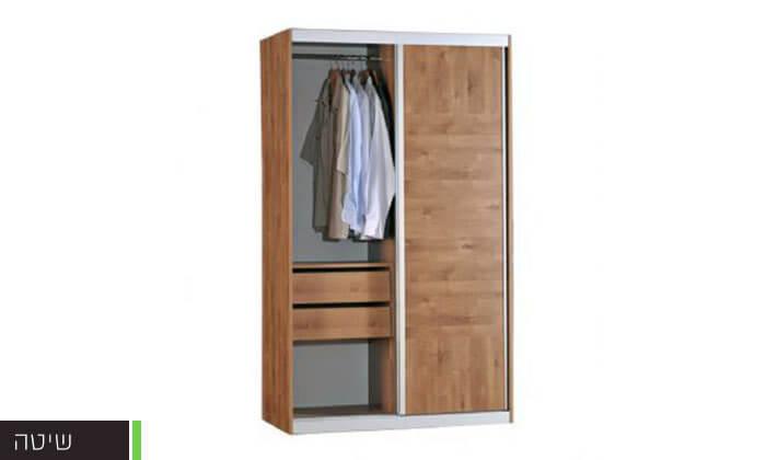 4 רהיטי יראון - ארון 2 דלתות הזזה
