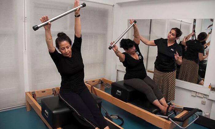 5 שיעור פילאטיס מכשירים משולב אישי - סטודיו אורלי אורן, מרכז סוזן דלל תל אביב