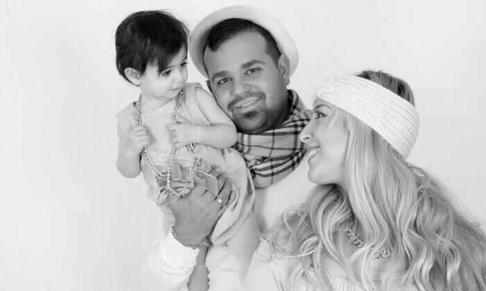 5 הגדלת תמונה, צילומי הריון, משפחה או ילדים בסטודיו ג'וני, צור הדסה