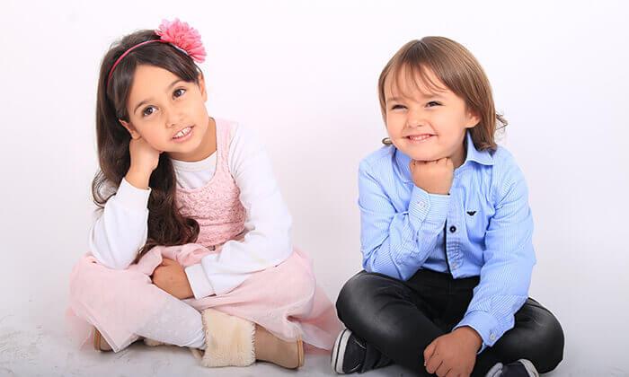 8 הגדלת תמונה, צילומי הריון, משפחה או ילדים בסטודיו ג'וני, צור הדסה