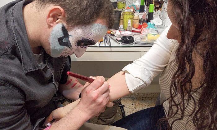 5 סדנת ציורי פנים בסטודיו בתיה צוקר, רמת גן