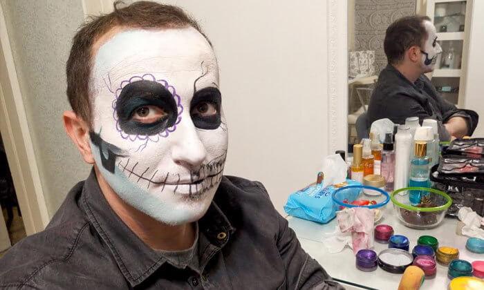 2 סדנת ציורי פנים בסטודיו בתיה צוקר, רמת גן