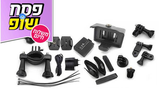 3 מצלמת אקסטרים Full HD - משלוח חינם!