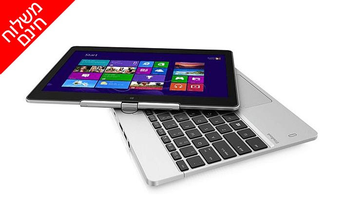 3 מחשב נייד HP עם מסך מגע מתהפך 11.6 אינץ' - משלוח חינם!
