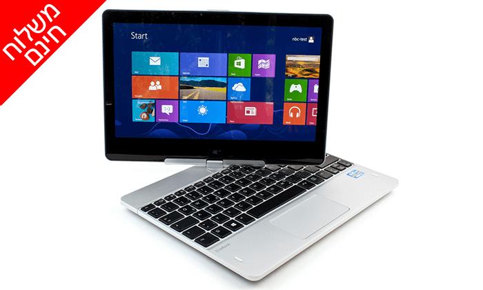 4 מחשב נייד HP עם מסך מגע מתהפך 11.6 אינץ' - משלוח חינם!