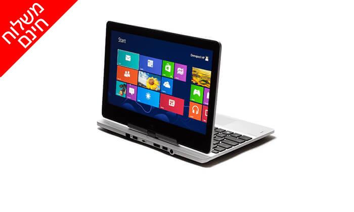 6 מחשב נייד HP עם מסך מגע מתהפך 11.6 אינץ' - משלוח חינם!