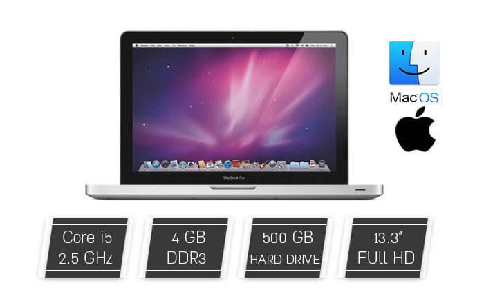 2 מחשב נייד Apple MacBook עם מסך 13.3 אינץ'
