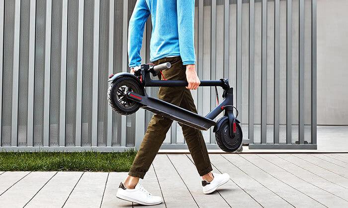 2 קורקינטMi Electric Scooter מבית Xiaomi יבואן רשמי כולל שנה אחריות- משלוח חינם!