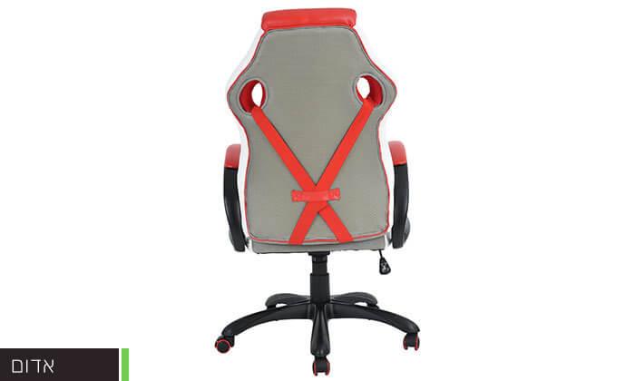 5 כסא בעיצוב מכונית מירוץ