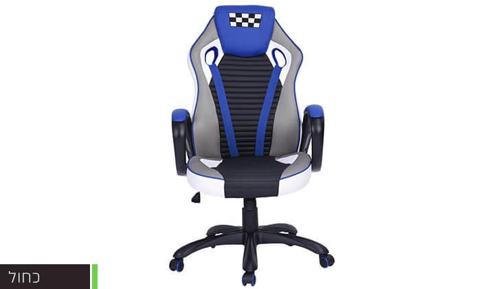 3 כסא בעיצוב מכונית מירוץ