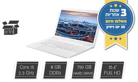 מחשב נייד Asus עם מסך ''15.6