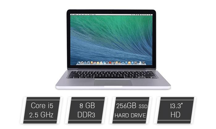 2 מחשב נייד Apple MacBook Pro Retina עם מסך 13.3 אינץ'