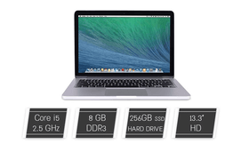 מחשב נייד MacBook מסך