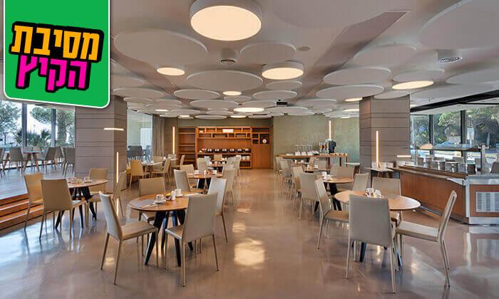 5 ארוחת בוקר בופה במלון Bay View בחיפה