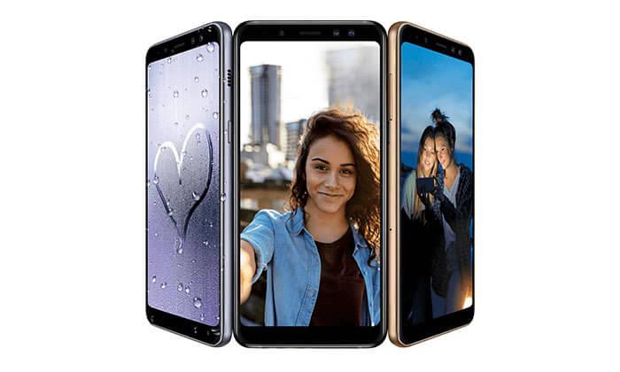 2 השקת סמארטפון Samsung Galaxy A8