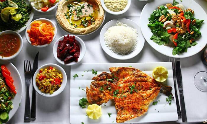 5 ארוחה במסעדת שיפודי התקווה בנמל תל אביב
