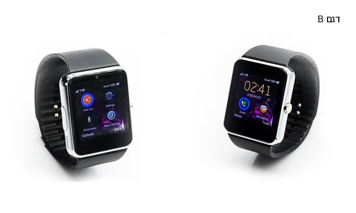 5 שעון יד חכם עם Bluetooth