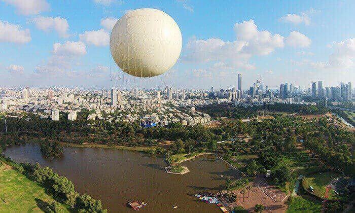 4 דיל חגיגת קיץ: טיסה בכדור פורח TLV Balloon, בפארק הירקון