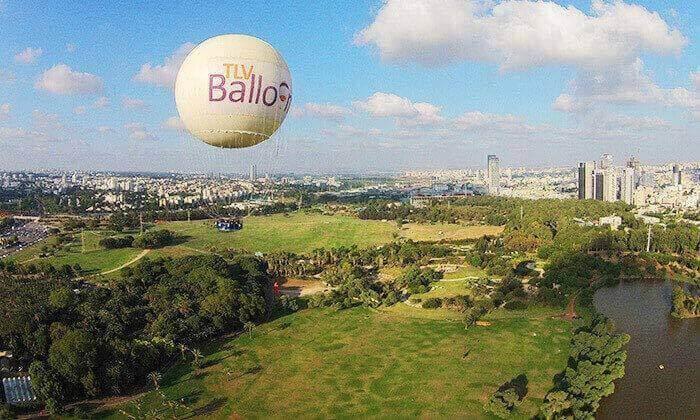 5 דיל חגיגת קיץ: טיסה בכדור פורח TLV Balloon, בפארק הירקון