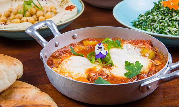 4 ארוחה זוגית במסעדת זויה גריל בר, נתניה