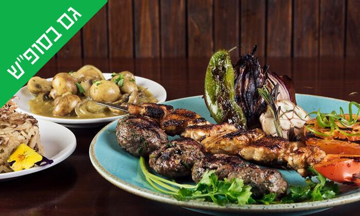 9 ארוחה זוגית כשרה במסעדת זויה גריל בר, נתניה