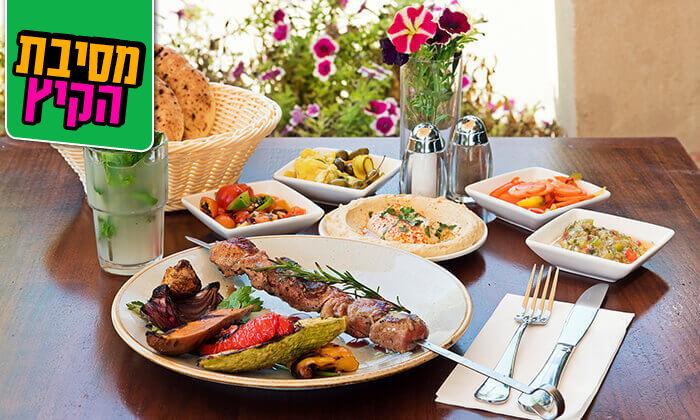 12 ארוחה זוגית במסעדת זויה גריל בר, נתניה