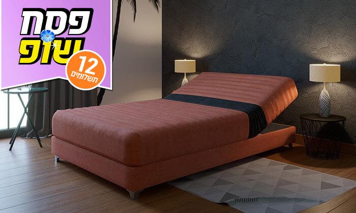 3 מיטה אורתופדית ברוחב וחצי RAM DESIGN