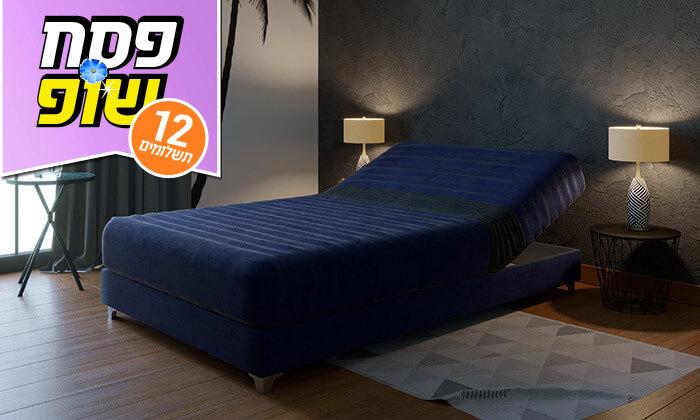 4 מיטה אורתופדית ברוחב וחצי RAM DESIGN