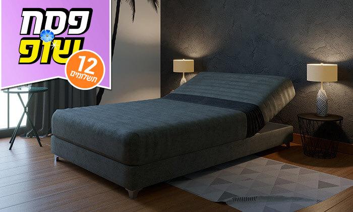 5 מיטה אורתופדית ברוחב וחצי RAM DESIGN