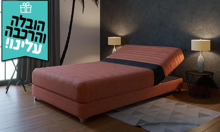 3 מיטה אורתופדית ברוחב וחצי RAM DESIGN - הובלה והרכבה חינם!