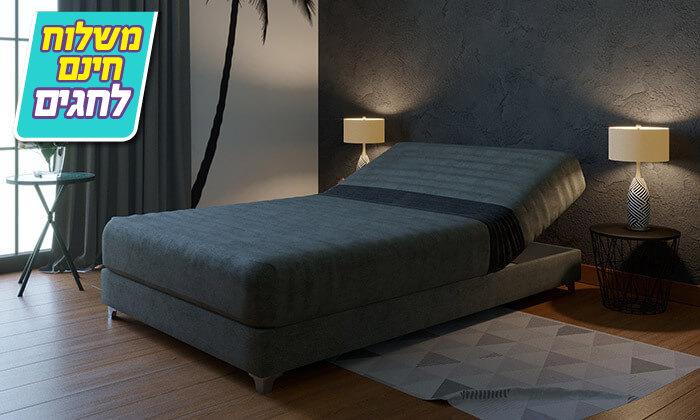 5 מיטה אורתופדית ברוחב וחצי RAM DESIGN - משלוח חינם